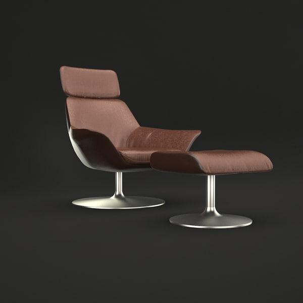 oscararmchair armchair 3D