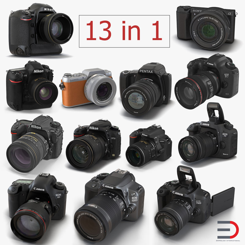 digital cameras 3D