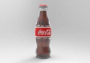 cola bottle 3D