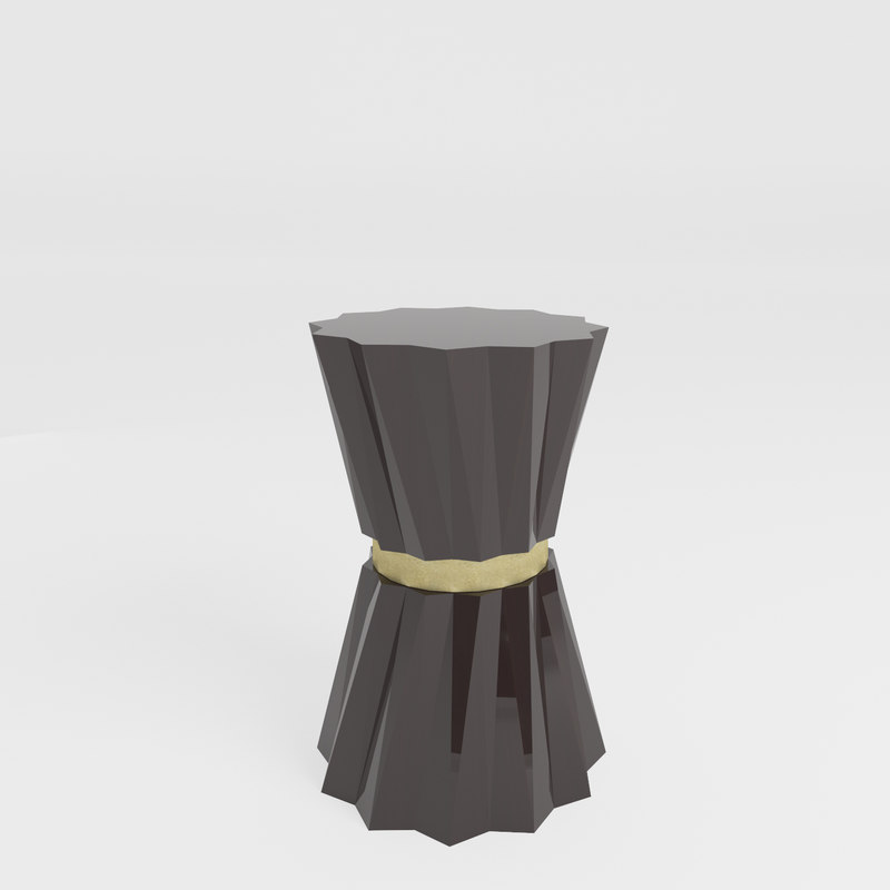 3D heliodor accent table baker