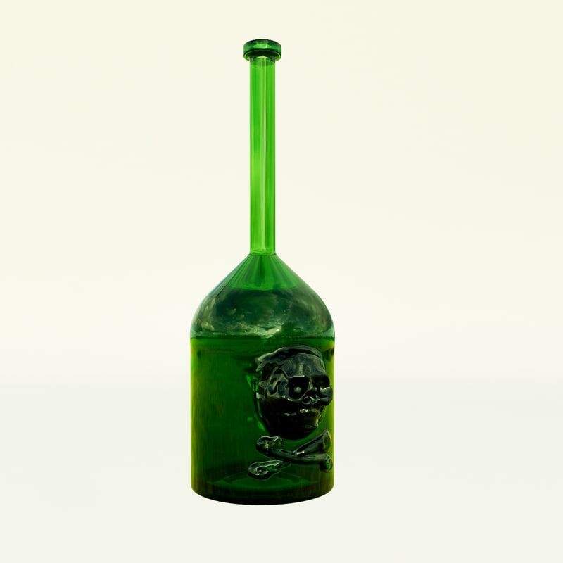 3D bottle filibuster old model