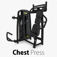 3D model - sp chest press