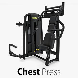 3D model - sp chest press