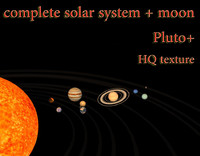 Solar system complete