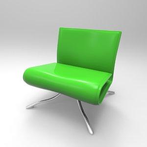 seal chair 3D model