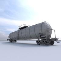 Train Car Tank Car 2