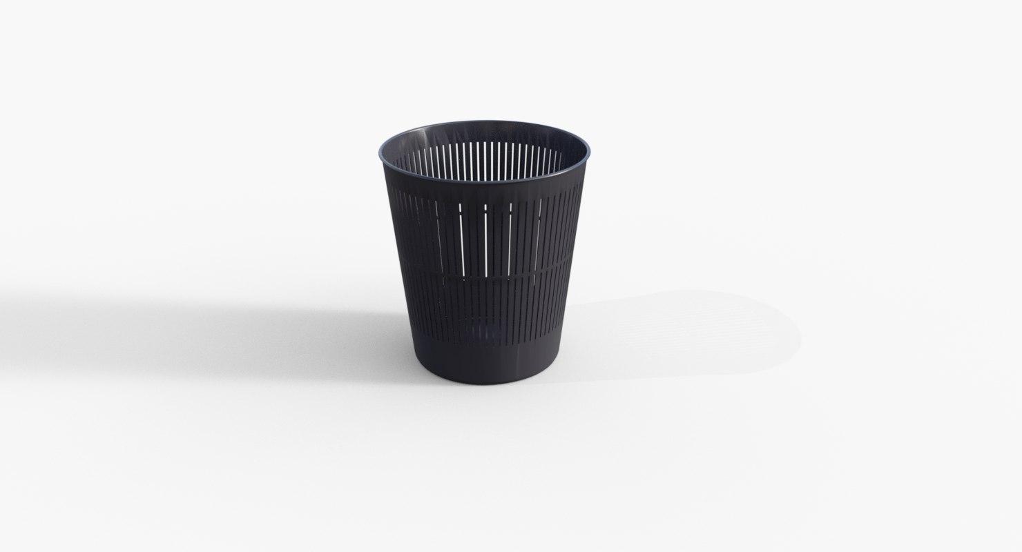 waste basket 3D