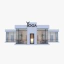 yoga studio 3D models