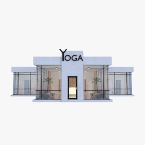 3D yoga studio