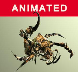 nightmare beetle 3D model