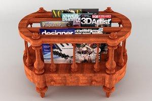 3D english victorian canterbury model