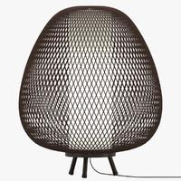 Twiggy egg lamp