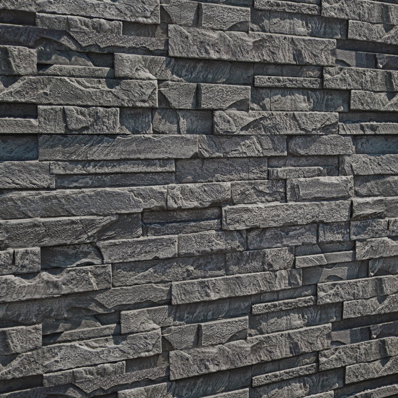 stone wall 3D