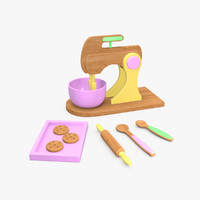 Wooden Mixer