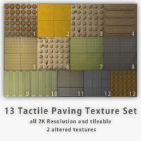 Tactile Paving Texture Set [13 images]