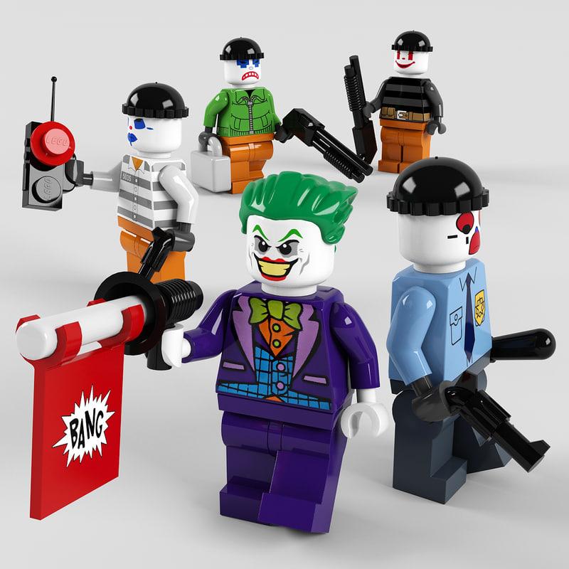 lego joker 3D
