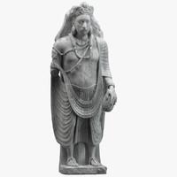 3D statue ancient 1