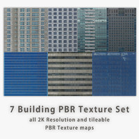 Building PBR Texture Set [7 images]