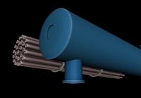 exchanger heat 3D model