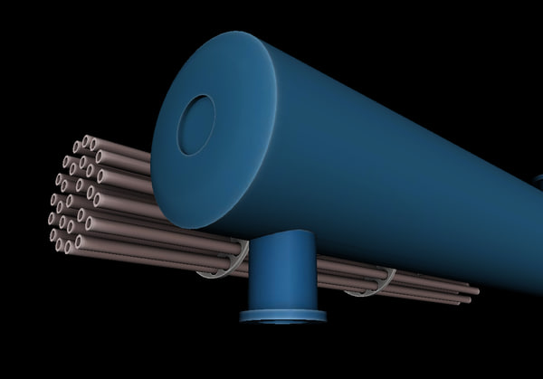 exchanger heat 3D model