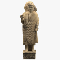 statue shakyamuni gandhara model