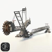 bagger 288 prb 3D model