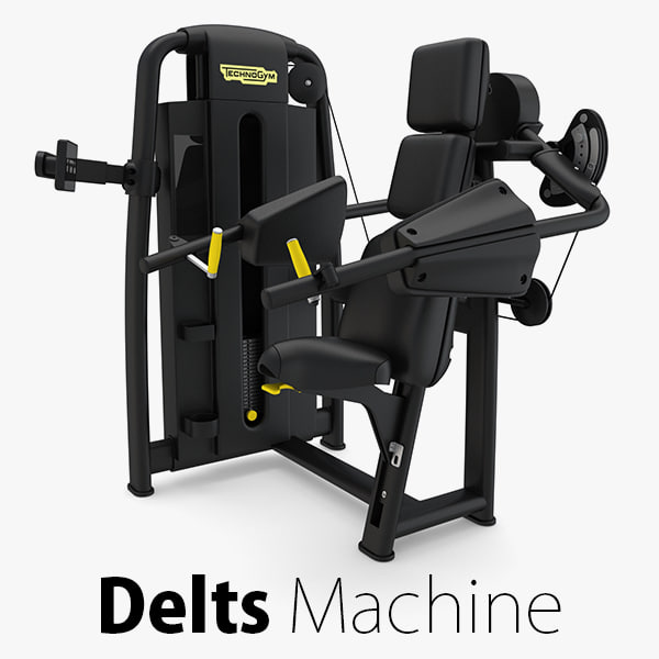 - sp delts machine 3D