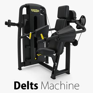 - sp delts machine 3D