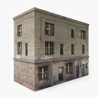 ready abandoned building games 3D