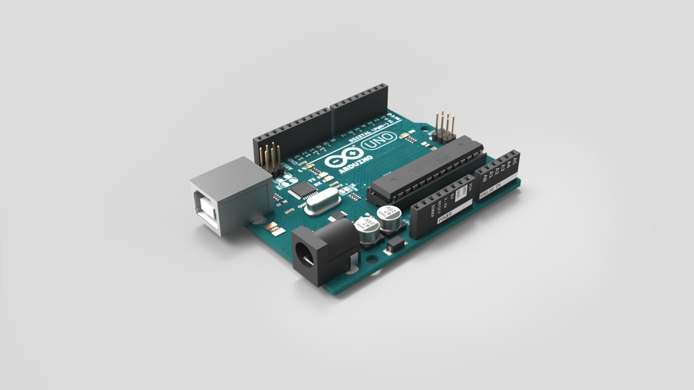 arduino uno board 3D model