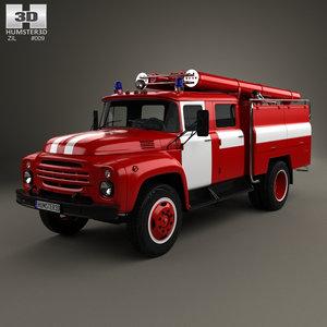 3D zil 130 1970