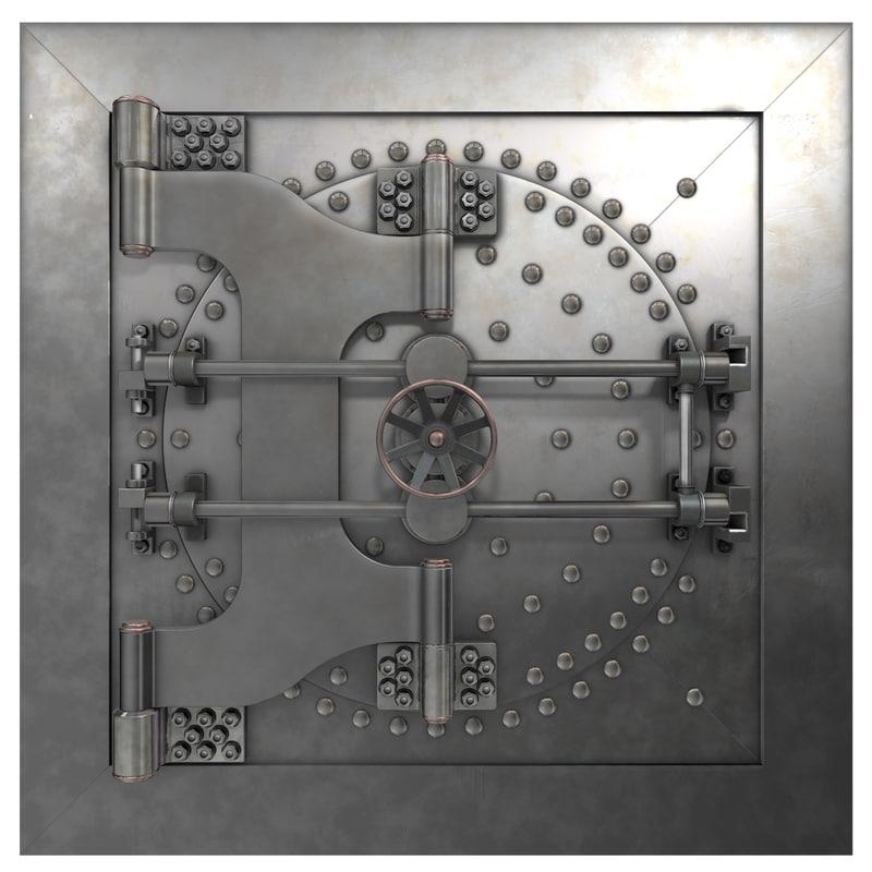 vault door model