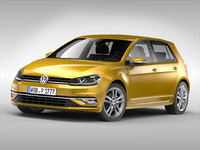 volkswagen car 3D