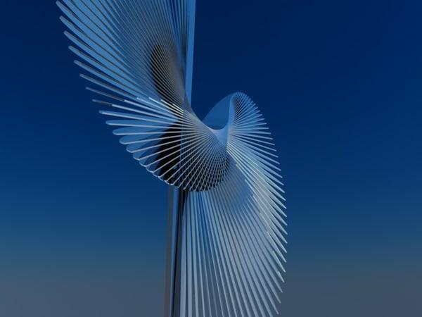 sculpture contemporary 3D model
