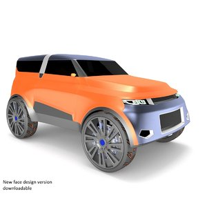 3D suv cars