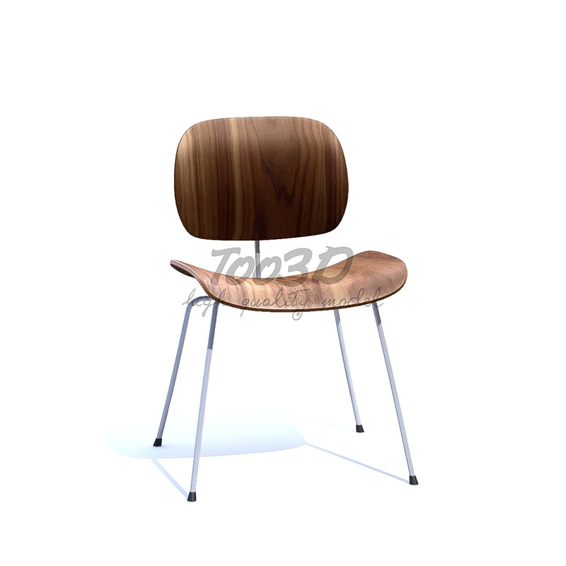 3D model plywood chair