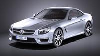 Mercedes - Benz SL 63 AMG 2015 VRAY