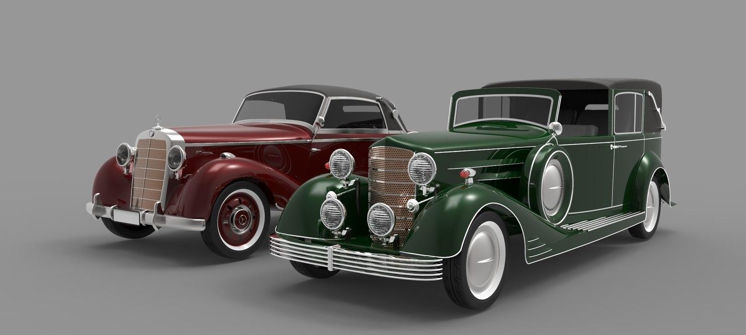 Old car 3D model - TurboSquid 1157413
