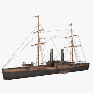 steam ship model
