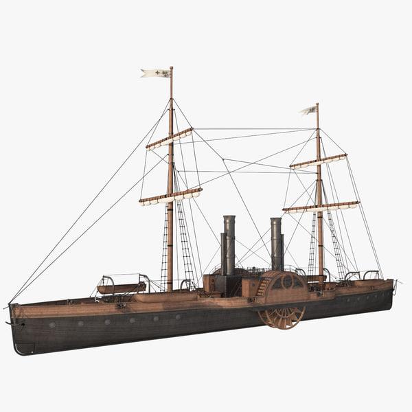 steam ship model