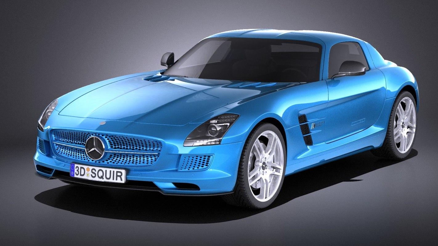3D electric 2015 mercedes