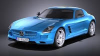 3D electric 2015 mercedes