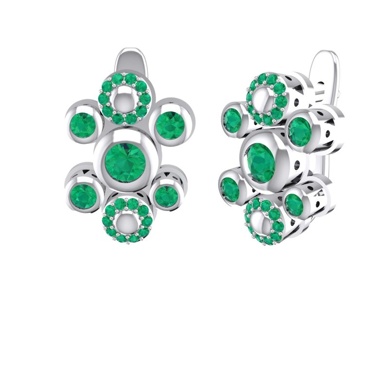 jewelry earrings pvg 3D