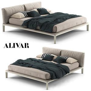 3D bed alivar model