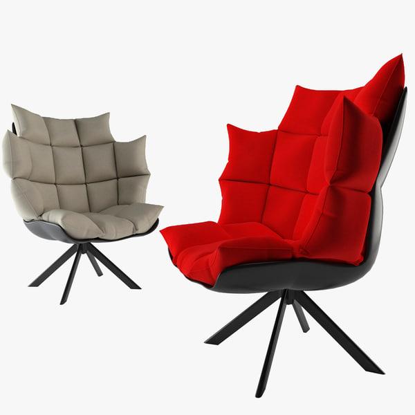 husk chair model