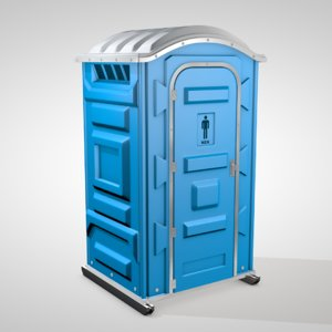 3D chemical toilet