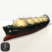 LNG gas tanker HD
