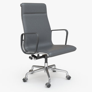 eames boss office chair 3D model