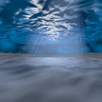 sea water 3D model