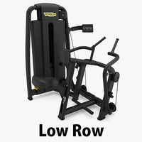 3D - sp row technogym